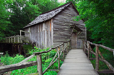 National Past Time Photograph - Cable Mill At Cades Cove, Great Smoky by Panoramic Images