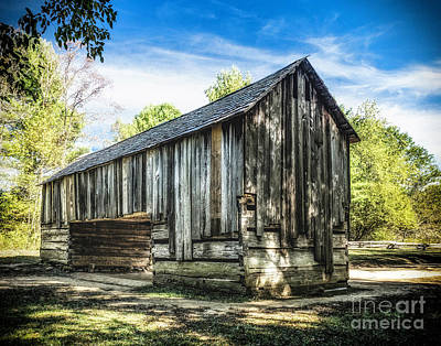 Photograph - Cable Mill  Cantilever Barn by Nick Zelinsky