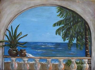 Painting - Cabo Arch #2 by Jeanie Watson