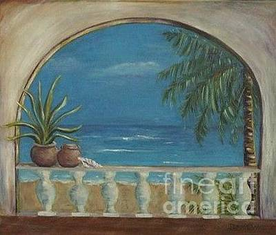 Painting - Cabo Arch by Jeanie Watson
