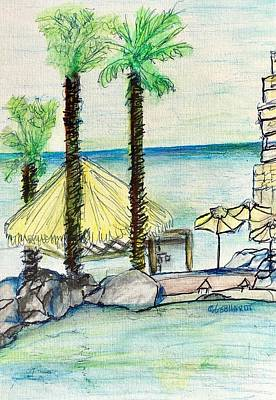 Painting - Cabo At Laroca  by Chuck Gebhardt