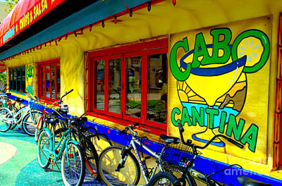 Cabo Cantina - Balboa Art Print by Jim Carrell
