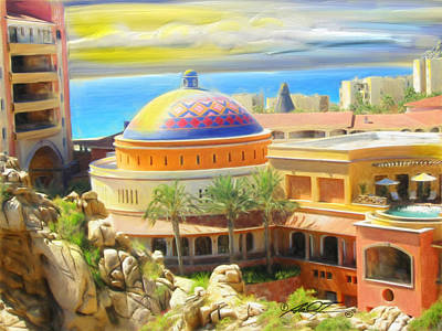 Painting - Cabo Condo by Dale Turner