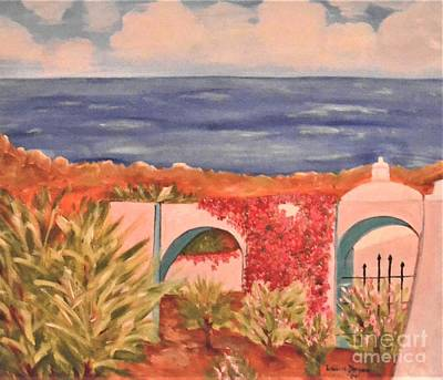 Painting - Cabo Garden by Laurie Morgan