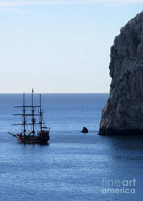 Photograph - Cabo Pirate Ship by Randall Weidner
