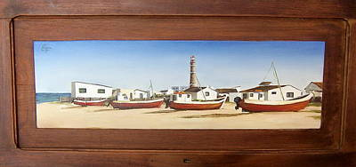 Art Print featuring the painting Cabo Polonio 2 by Natalia Tejera