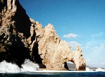 Photograph - Cabo San Lucas Arch by Will Borden