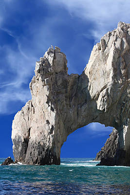 Photograph - Cabo San Lucas Archway by Shane Bechler