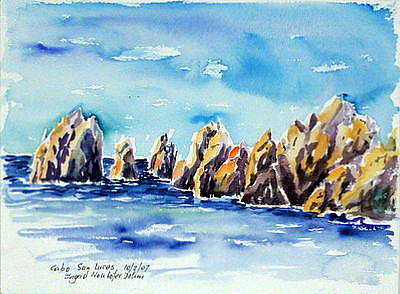 Painting - Cabo San Lucas 111 by Ingrid Dohm