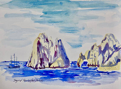 Painting - Cabo San Lucas 1111 by Ingrid Dohm