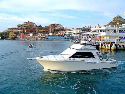 Photograph - Cabo San Lucas Marina by Karon Melillo DeVega