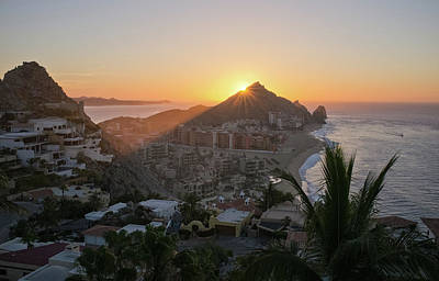 Photograph - Cabo San Lucas Sunrise by Frank DiMarco