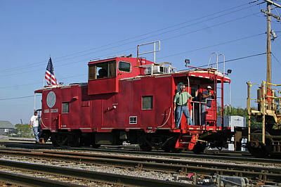 Photograph - Caboose In Cayce by Joseph C Hinson Photography