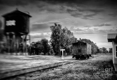 Photograph - Caboose Retirement by Fred Lassmann