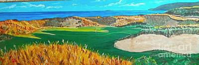 Cabot Painting - Cabot Cliffs by Frank Giordano