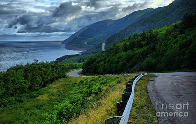Cabot Trail Art Print by Joe  Ng