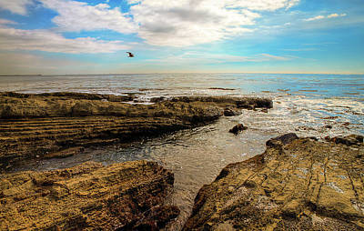 Cabrillo Beach San Pedro California Art Print