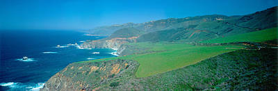 Cabrillo Highway On The California Art Print by Panoramic Images