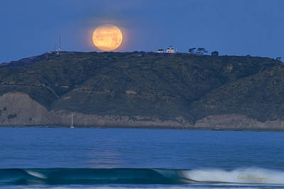 Photograph - Cabrillo Moon by Dan McGeorge