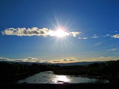 Photograph - Cache Creek Sunset by Jennifer Muller