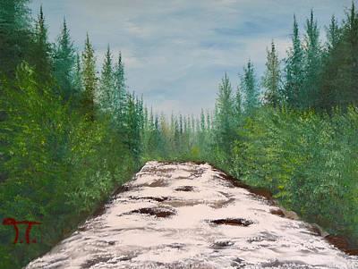 Cache La Poudre River Original by Troy Thomas