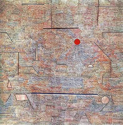 Modernist Mixed Media - Cacodemonic 1916 by Paul Klee