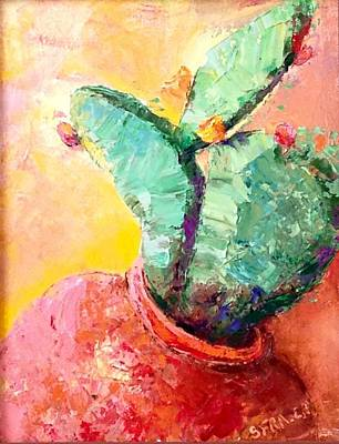 Painting - Cactus Cool by Sally Fraser