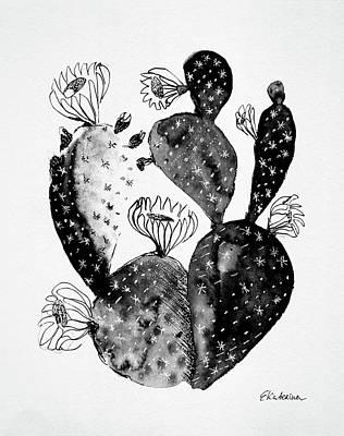 Painting - Cactus by Ekaterina Chernova