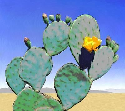 Cactus Flower Original