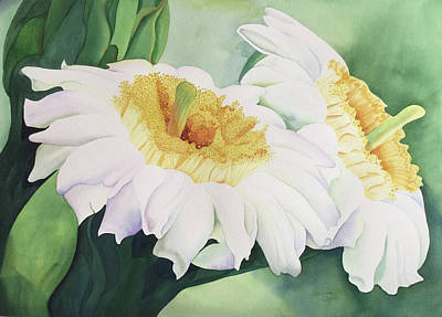Painting - Cactus Flower by Teresa Beyer