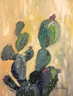 Painting - Cactus Gold by Karen Ahuja