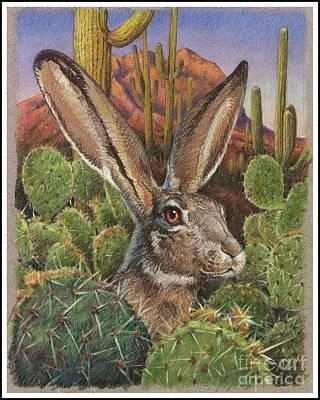 Cactus Jack Art Print by Ken Ottinger