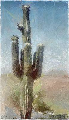 Painting - Cactus by Jeffrey Kolker