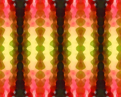Digital Art - Cactus Vibrations 1 by Amy Vangsgard