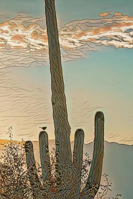 Photograph - Cactus Wren Serenade by Dan McManus