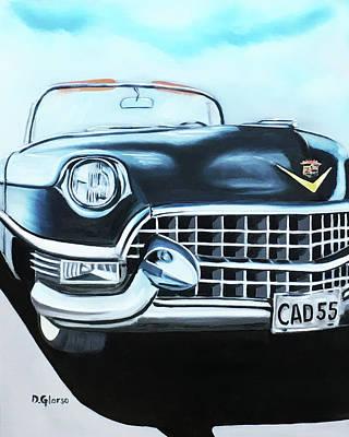 Painting - Caddie - 1955 by Dean Glorso