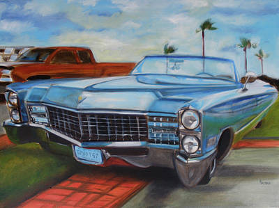 Painting - Caddy Spirit Of 67 by Kaytee Esser