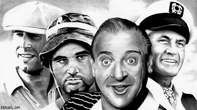 Drawing - Caddyshack  by Rick Fortson