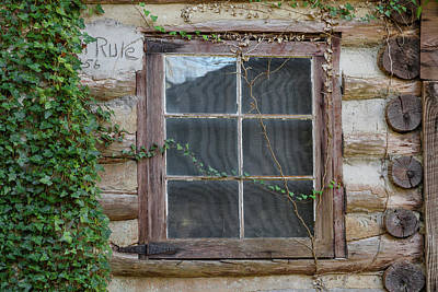 Abandoned Elkmont Wall Art - Photograph - Old Rustic Cabin In Cades Cove by Scott Slone