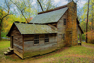 Photograph - Cades Cove Cabin II by Steven Ainsworth