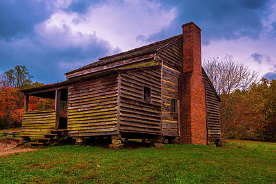 Photograph - Cades Cove Cabin by Steven Ainsworth