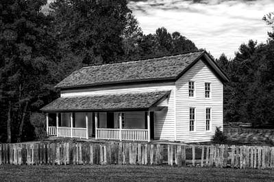 Frame House Photograph - Cades Cove Gregg-cable House - 2 by Frank J Benz