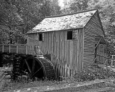 Cades Cove Mill Art Print