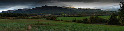 Photograph - Cades Cove Panoramic by Jonas Wingfield