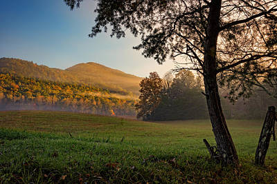 Smokey Mountains Photograph - Cades Cove by Rick Berk