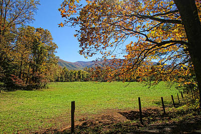 Photograph - Cades Cove Vista by HH Photography of Florida