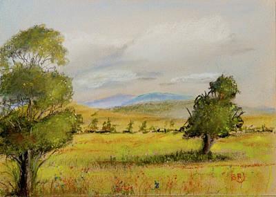 Mountain Landscape Painting - Cade's Cove Vista - Scenic Landscape by Barry Jones