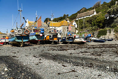 Photograph - Cadgwith Cove by Brian Roscorla