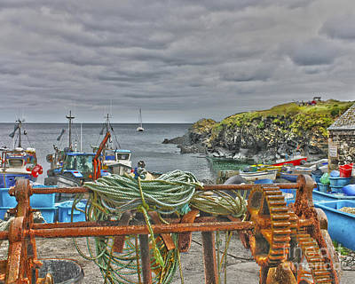 Photograph - Cadgwith Hdr by Terri Waters