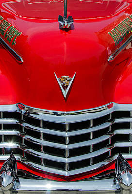 Photograph - Cadillac Ambulance  by Susan McMenamin